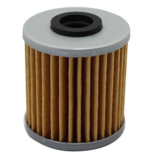 RMZ 450 2005-2015 Cyleto Oil Filter for SUZUKI 250 400 RMZ 250 RM-Z250 2004-2015 Pack of 4
