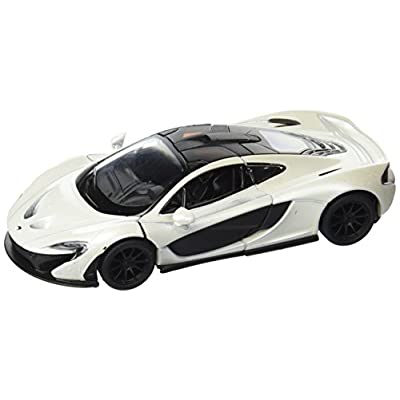 Kinsmart McLaren P1, White 5393D - 1/36 Scale Diecast Model Toy Car: Toys & Games