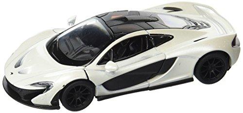McLaren P1, White - Kinsmart 5393D - 1/36 Scale Diecast Model Toy Car