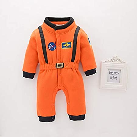 6-12M WSJDE Umorden Astronaut Costume Space Suit Rompers for Baby Boys Toddler Infant Halloween Christmas Birthday Party Cosplay Fancy Dress 80