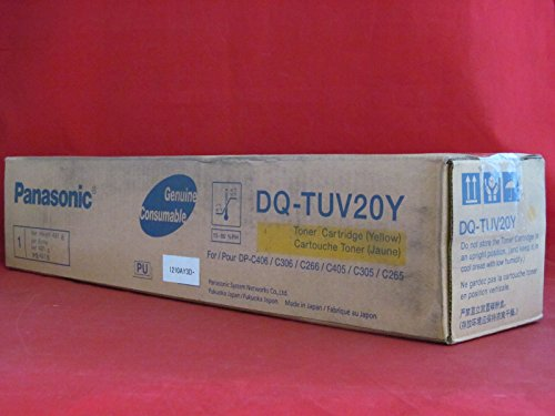 NEW Panasonic OEM Toner DQ-TUV20Y (YELLOW) (1 Cartridge) (Color Laser Supplies) by Panasonic
