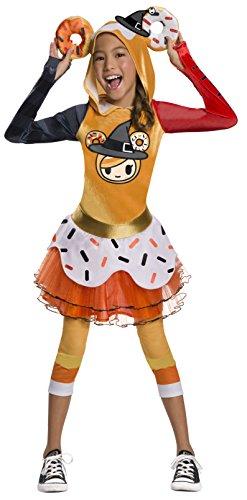 Rubie's Child's Tokidoki Costume, Halloween Donutella, Large