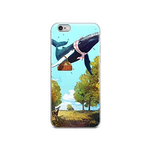 iPhone 6/6s Case Anti-Scratch Creature Animal Transparent Cases Cover Autumn Stranger Animals Fauna Crystal Clear -