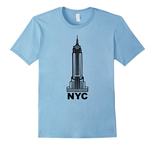 mens-new-york-city-shirt-nyc-shirt-empire-state-building-tee-large-baby-blue