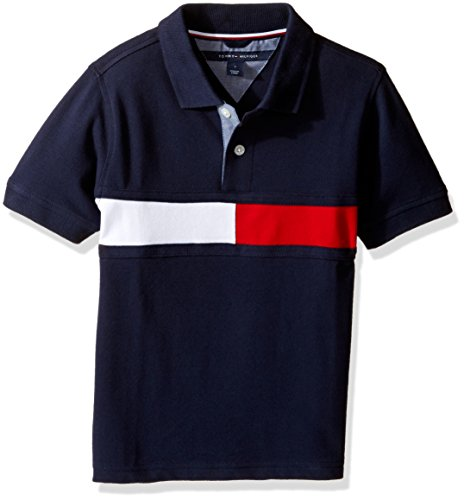 tommy-hilfiger-big-boys-gary-stretch-polo-swim-navy-medium-12-14