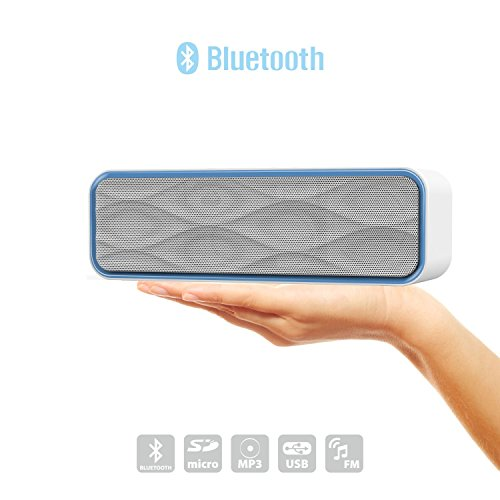 Bluetooth Speaker, Ubetter Audio Duo Portable Wireless Speaker,High-Definition Sound Quality For