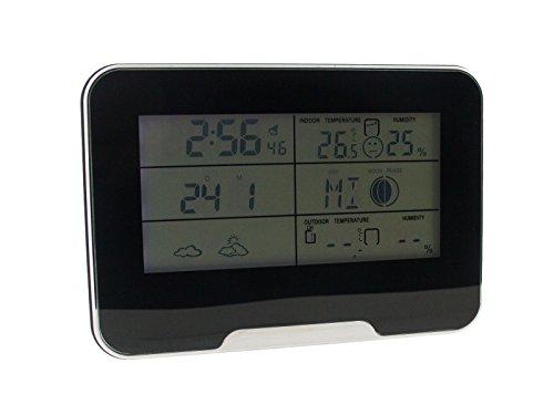 BrickHouse Security HD 1080P Weather Clock WiFi Hidden Camer