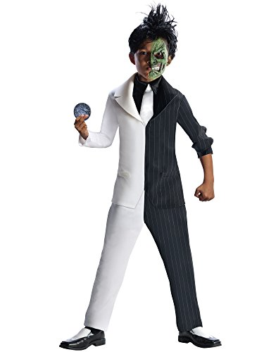 Rubies DC Super Villains Two Face Costume, Child Medium -