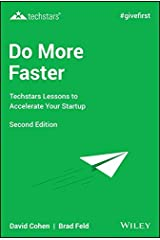 Do More Faster: Techstars Lessons to Accelerate Your Startup Hardcover