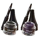 Laura Geller Inkwell Waterproof Gel Liner Duo Black & Purple