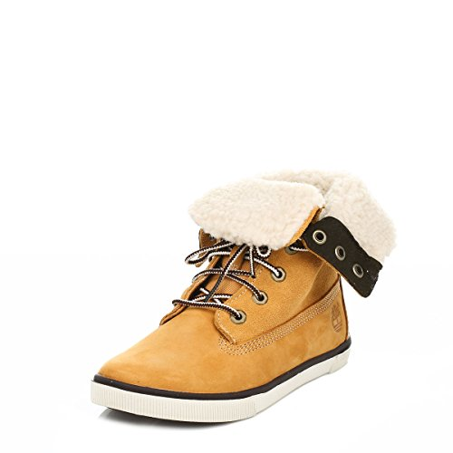 Timberland Jugend Wheat Deering Fold Down Boots
