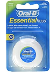 Oral-B Essentialfloss tandzijde, ongewaxt, 50 m (1 stuk)