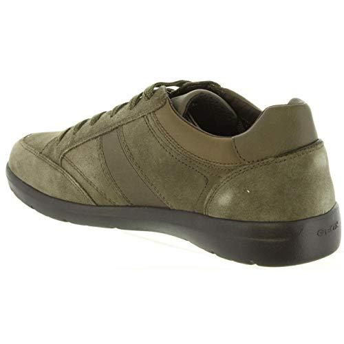 U Taupe Grey Leitan Herren Braun Geox C6140 B Sneaker a15qwn