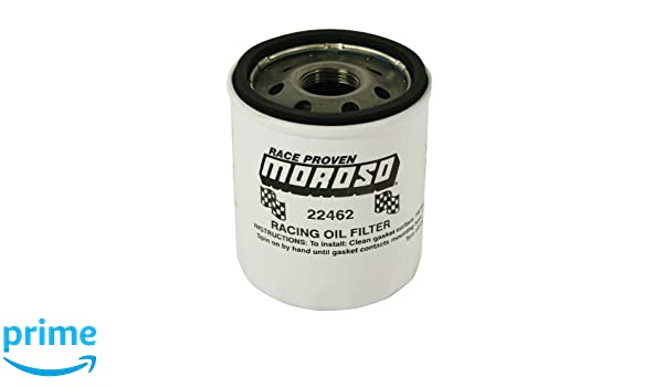 Moroso 22462 13//16 Thread Oil Filter for GM LS Engines