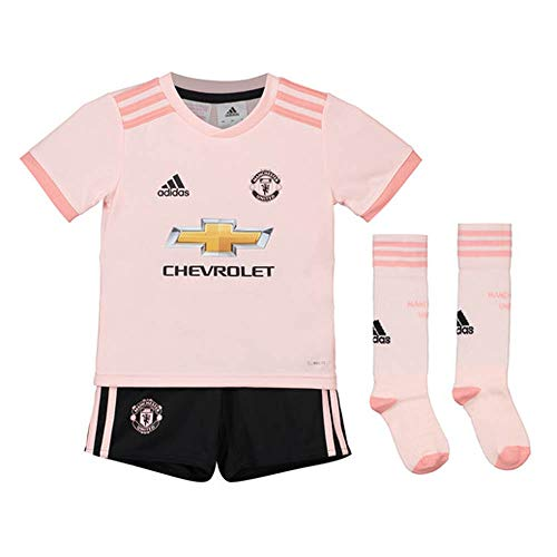 adidas Manchester United Away Kit 2018/19 (Kids)-5-6 Years