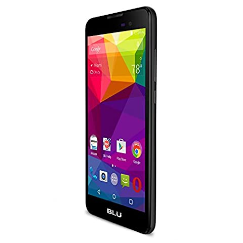 BLU Advance 5.0 - Unlocked Dual Sim Smartphone - US GSM - Black (Android 4 Phone Cheap)