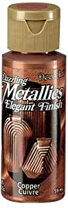DecoArt Dazzling Metallics 2-Ounce Copper Acrylic Paint