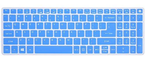 Keyboard-Skin-for-Acer-Aspire-E-15-E5-575-E5-576G-E5-574G-E5-573G-ES15-ES1-572-Aspire-E-17-E5-772G-Aspire-V15-V17-VN7-592G-VN7-792G-F15-F5-571-F5-573G-Aspire-3-A315-Aspire-7-A715-Blue