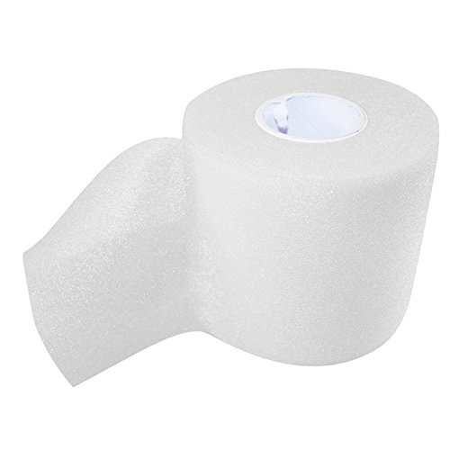 Globeagle Sports Foam Wrap Soft Underwrap Sport Physio Tape Bandage Strapping (White (Underwrap Wrap)