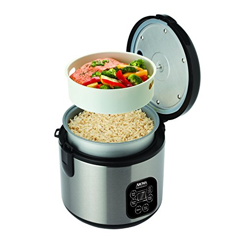 Aroma Professional Rice Cooker / Multicooker, Silver (ARC-934SBD) by Aroma Housewares (Image #1)