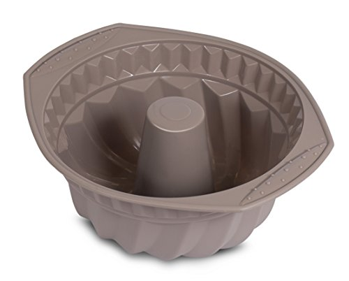 (Internet's Best Silicone Fluted Cake Mold | Bundt Cake Pan | Bread Chocolate Bakeware | BPA)