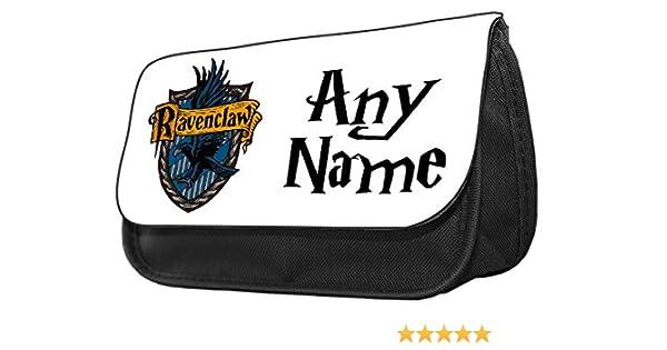Estuche personalizado con diseño de Harry Potter Ravenclaw Crest Funny para lápices. Estuche de maquillaje, regalo de vuelta a la escuela, color Harry Potter Ravenclaw Crest 3 20 cm x 14 cm