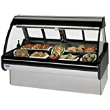 Federal Industries MCG-1054DM Curved Glass Refrigerated Maxi Deli Case