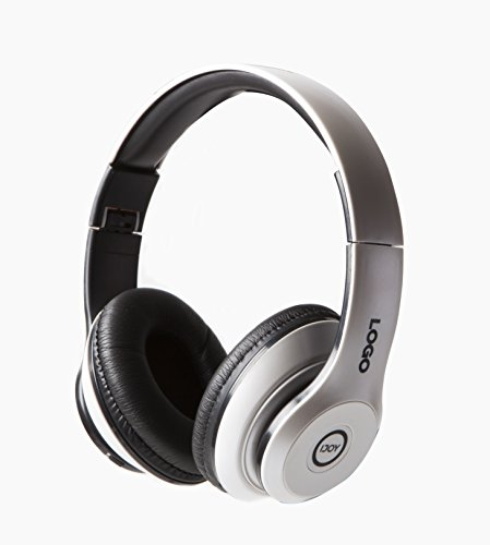 iJoy Matte Rechargeable Wireless Bluetooth Foldable Over Ear Headphones with Mic (WHT) - Vaas Bluetooth Headphones