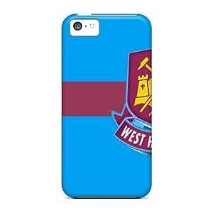 High Grade AnnetteL Flexible Tpu Case For Iphone 5c - Famous West Ham United