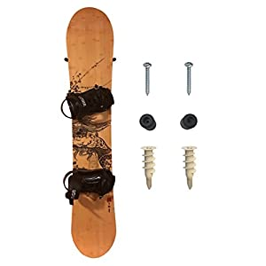 StoreYourBoard The Cinch | Snowboard Wall Mount and Storage Hanger Rack