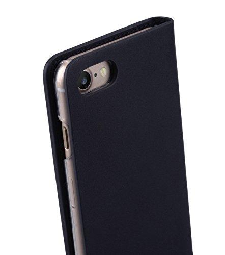 Melkco Fashion Cocktail Series slim Flip Case for Apple iPhone 7(4.7')(Italian Navy)_LF2231