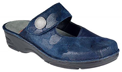 Blue Heliane 390 Clogs Women's 03457 Berkemann BLAU EOqX4wT