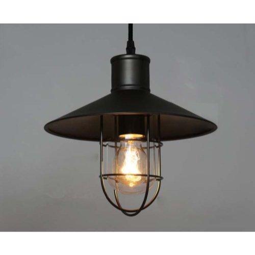Copper Cage Pendant Light in US - 4