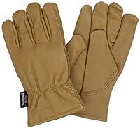 Carhartt Men's Insulated Full-Grain Leather Driver Work Glove