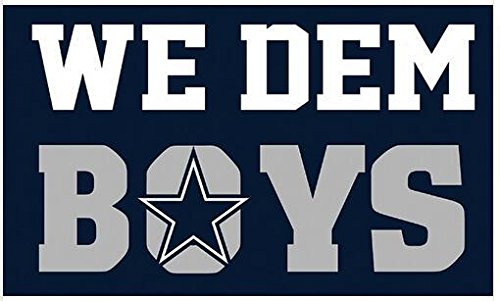 "Dallas Cowboys ""We Dem Boys"" 3x5 Polyester Flag"