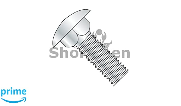 Pack of 20 SHORPIOEN Carriage Bolt 18 8 Stainless Steel 1//4-20 x 4-1//2 BC-1472C188-20