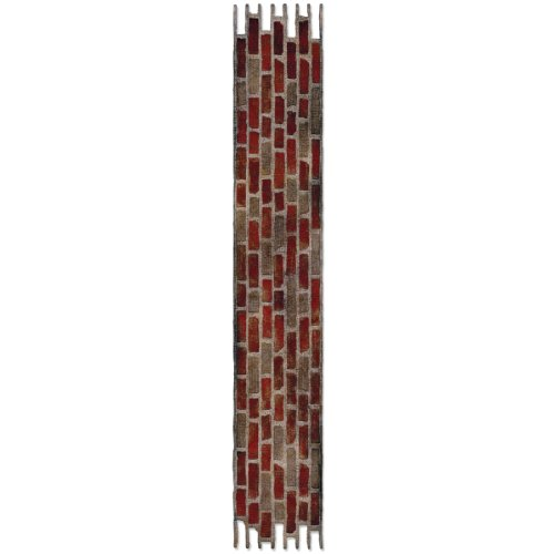 (Sizzix 658240 Sizzlits Decorative Strip Die, Brick Wall by Tim Holtz, Multicolor)