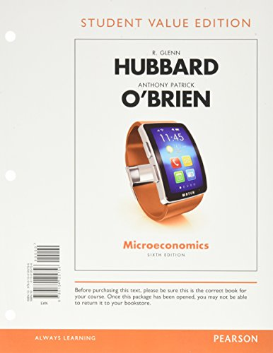 Microeconomics (Loose) W/Myeconlab