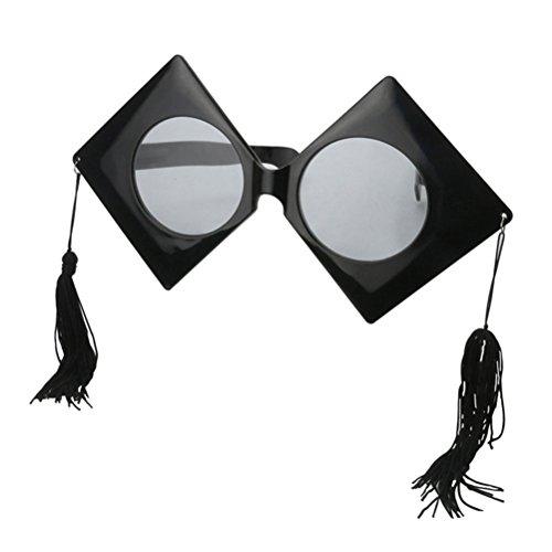 decoración para la Accesorios Cap del Good Gafas sol partido Night Gafas Atrezzo Bachelor de disfraces de fxwASfCYq