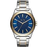 Armani Exchange Men's Dress Silver Watch AX2332