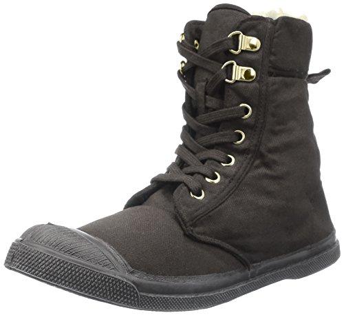Bensimon Gris Femme 802 gris Ranger Sneakers Hautes Bwqx1BrF