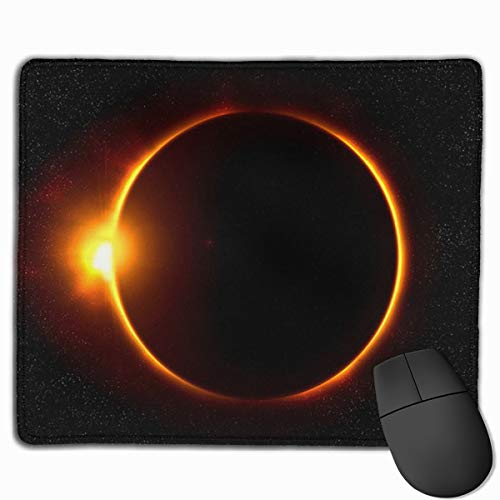 Smooth Mouse Pad Solar Eclipse Mobile Gaming Mousepad Work Mouse Pad Office Pad]()