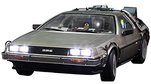 Back To The Future Hot Toys 1 6th Scale DeLorean Collectible Vehicle by Back To The Future