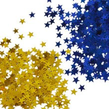 Prince Gold Stars Blue Confetti Prince Baby Shower Birthday Party Decorations, Royal Prince Boy Confetti ()