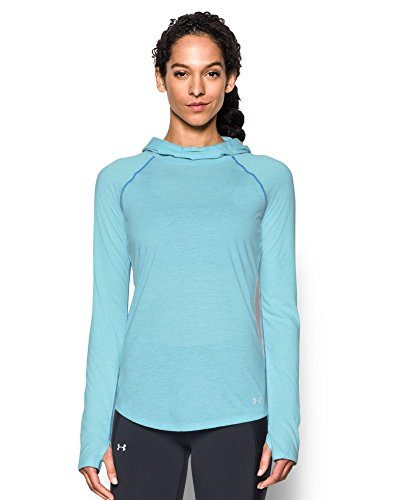 Under Armour Women's Streaker Hoodie, Maui (472), Small