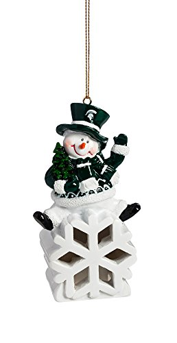 Christmas Tree Store Michigan - Team Sports America Michigan State Spartans Snowman LED Ornament