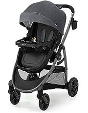 Graco Modes Pramette Stroller, Baby Stroller with True Bassinet Mode,