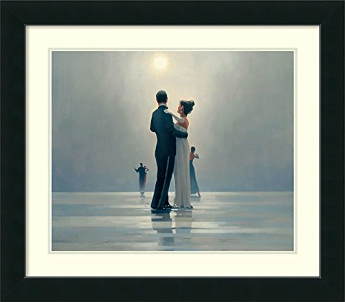(Framed Wall Art Print | Home Wall Decor Art Prints | Dance Me to The End of Love by Jack Vettriano | Modern Contemporary Decor)