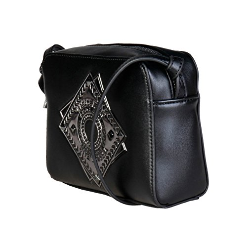 Bag Body Women Designer Cross Jeans Bag Black Women Crossbody Genuine Versace 6v7xB5v