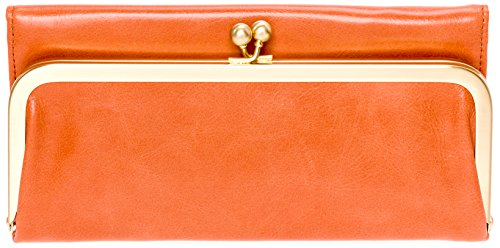Hobo Womens Rachel Vintage Wallet Leather Clutch Purse (Persimmon) by HOBO